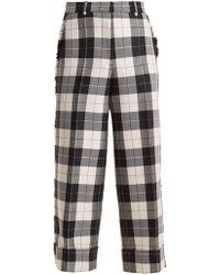 Thom Browne - Sack Wide-leg Trousers - Lyst