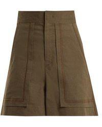 Isabel Marant - Lucky A Line High Waist Shorts - Lyst