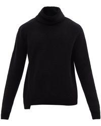 Alexander McQueen タートルネック ウールセーター - グレー
