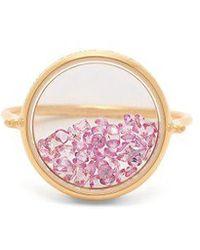 Aurelie Bidermann - Chivor Sapphire & 18kt Gold Ring - Lyst