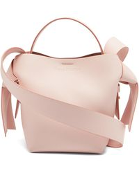 Acne Studios Musubi Mini Leather Cross-body Bag - Pink