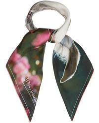 Mary McCartney - Feel The Breeze-print Silk Scarf - Lyst