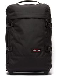Eastpak Transverz Small Canvas Suitcase - Black