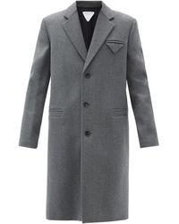 Bottega Veneta - ウール シングルコート - Lyst