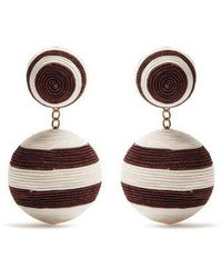 Rebecca de Ravenel - Pepper Drop Earrings - Lyst