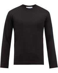 Comme des Garçons Comme Des Garçons Shirt コットン ロングスリーブtシャツ - ブラック