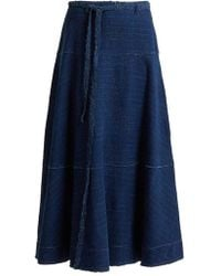 Elizabeth and James - Leila A-line Denim Skirt - Lyst