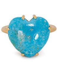 Irene Neuwirth - Turquoise And Yellow-gold Ring - Lyst