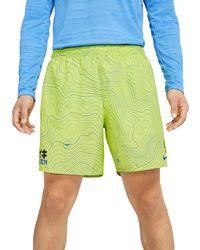 Nike SHORT CHALLENGER EKIDEN 7 - Verde