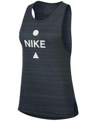 Nike CANOTTA DRI-FIT ICON CLASH - Nero