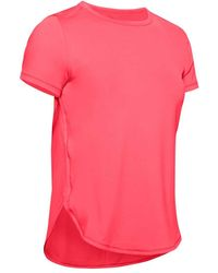 Under Armour - T-SHIRT SPORT CROSS BACK - Lyst