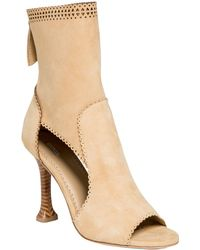 Leon Max - Ebullient : Soft Suede Ankle Heels - Lyst