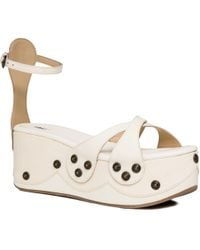 Leon Max - Daise : Riveted Suede Platforms - Lyst