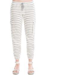 Leon Max - Striped Drawstring Trousers - Lyst
