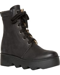 Leon Max - Grin : Lace-up Leather Boots - Lyst