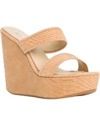 Leon Max - Fondle : Two Strap Wedges - Lyst