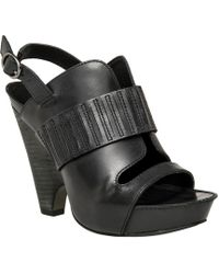 Leon Max - Nelson : Polished Calf Demi Wedge Sandals - Lyst