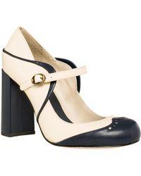 Leon Max - Holmby 2 : Polished Calf High Heel Mary Janes - Lyst
