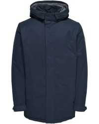 Only & Sons Blue Polyester Outerwear Jacket