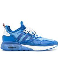 adidas POLYESTER SNEAKERS - Blau