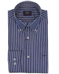 Paul & Shark Cotton Shirt - Blue