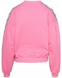 Chiara Ferragni BAUMWOLLE SWEATSHIRT - Pink