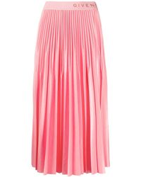 Givenchy Polyester Skirt - Pink