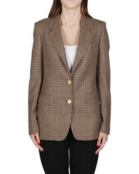 Tagliatore Wool Blazer - Brown