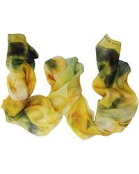 Elie Saab Silk Scarf - Yellow