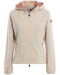 Save The Duck BEIGE POLYESTER OBERBEKLEIDUNG JACKE - Natur