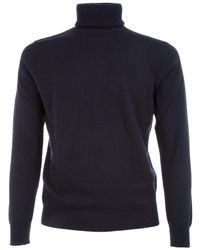 Ones - BLAU CASHMERE PULLOVER - Lyst
