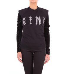 G!NA Trousse sweatshirt - Schwarz