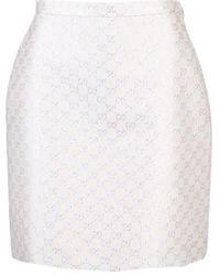 Gucci Wool Skirt - White