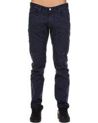 Jeckerson - Blue Cotton Jeans - Lyst