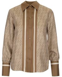 Chloé Other Materials Shirt - Brown