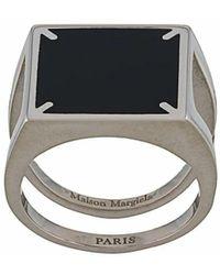 Maison Margiela ANDERE MATERIALIEN RING - Mettallic