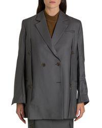 Eudon Choi Grey Wool Blazer