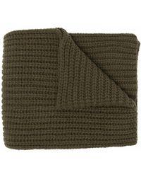 Alanui Chunky-knit Scarf - Green