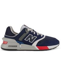 New Balance SYNTHETISCH FASERN SNEAKERS - Blau