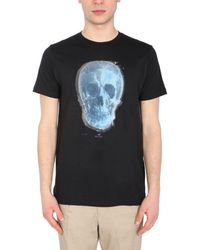 PS by Paul Smith - Other Materials T-shirt - Lyst