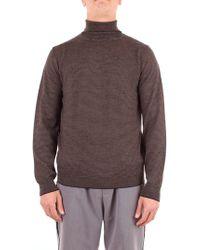 Heritage Brown Wool Sweater
