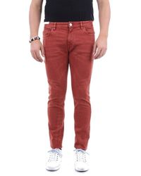 PT01 BAUMWOLLE JEANS - Rot