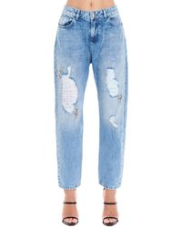 Twin Set Cotton Jeans - Blue