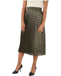Celine Silk Skirt - Black