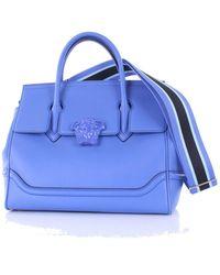 Versace - Dbff453ndstvt Leather Handbag - Lyst