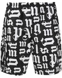 Palm Angels POLYESTER BADEBOXER - Schwarz