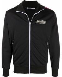 Palm Angels Polyester Sweatshirt - Black