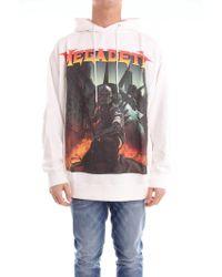 R13 - White Cotton Sweatshirt - Lyst