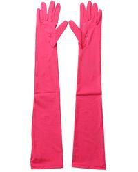 Maison Margiela S52ts0033s23467256 andere materialien handschuhe - Pink