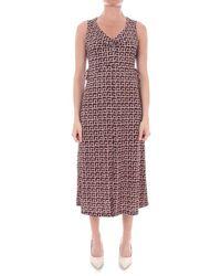 Seventy Polyester Dress - Brown